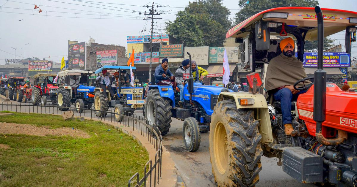 Delhi Cops to decide on Permission for Farmer's Tractor Rally Today